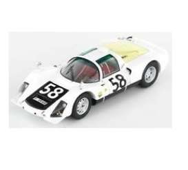 Minichamps - Porsche  - mc400666658 : 1966 Porsche 906K #58 Klass/Stommelen 24H Le Mans, grey/red/black