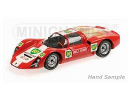 Minichamps - Porsche  - mc400676610 : 1967 Porsche 906E BP World Record Runs Monza, red/white/green