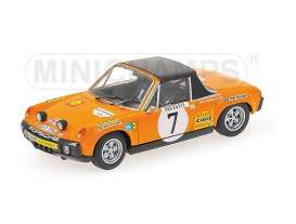 Minichamps - Porsche  - mc400716517 : 1971 Porsche 914/6 Andersson/Thorzelius, orange