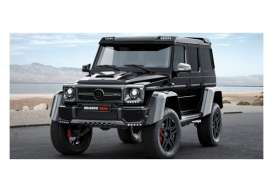 Minichamps - Brabus Mercedes - mc437032460 : 2016 Brabus 4x4² Auf Basis Mercedes Benz G500 4x4² *Resin series*, black