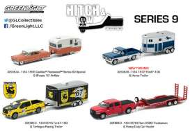 GreenLight - Assortment/ Mix  - gl32090~12 : Hitch and tow Series 9 Mix box of 12 various models.