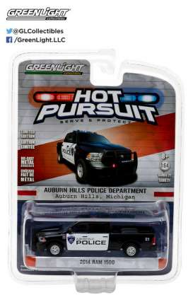 GreenLight - Ram Dodge - gl42780E : 2014 Ram 500 Auburn Hills Michigan *Hot Pursuit series 21*