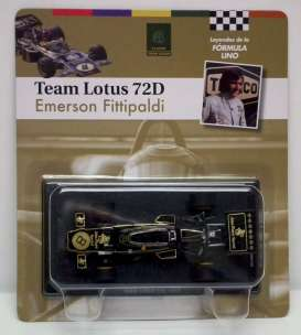 Magazine Models - Lotus  - magfor06 : 1972 Lotus 72D #8 *Fittipaldi* JPS, black/gold