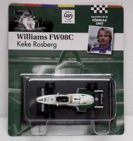 Magazine Models - Williams  - magfor09 : 1983 Williams FW08C #1 *Keke Rosberg*, white/green