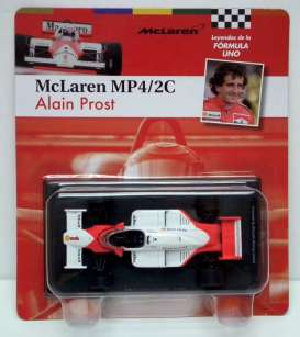 Magazine Models - McLaren  - magfor10 : 1986 McLaren MP4/2C #1 *Prost*, white/red