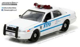 GreenLight - Ford  - gl42771 : 2011 Ford Crown Victoria Police New York City Police Dept (NYPD) with NYPD Squad Number Decal Sheet (Hobby Exclusive).