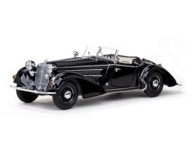 SunStar - Horch  - sun2401*2 : 1939 Horch 855 Special Roadster, black