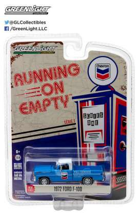 GreenLight - Ford  - gl41010F : 1972 Ford F-100 *Chevron* Running on Empty Series 1