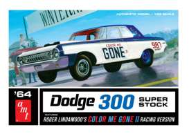 AMT - Dodge  - amts987 : 1/25 1964 Dodge 300 Superstock Color Me Gone, plastic modelkit