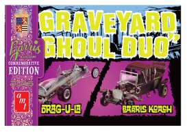 AMT - Barris  - amts1017 : 1/25 Graveyard Ghoul Duo (George Barris Commemorative Edition), plastic modelkit