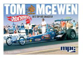 MPC - Dragster  - mpc855 : 1/25 1972 Rear Engine Dragster (Hot Wheels) Tom 'Mongoose McEwen', plastic modelkit