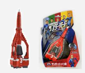 Tomica - Thunderbirds  - to840046 : Thunderbirds are go Sound Thunderbird 3, orange