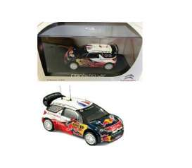 Norev - Citroen  - nor019155 : 2012 Citroen DS3 WRC #1 Loeb/Elena Allemagne Rally, blue/red/white