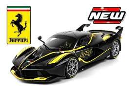 Bburago - Ferrari  - bura16907by : 2015 Ferrari FXX-K #44 *Deluxe Signature Series* black/yellow