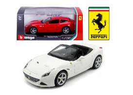 Bburago - Ferrari  - bura46011w : 1/32 Ferrari California T Open Top, white
