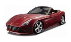 Bburago - Ferrari  - bura35229r : 1/43 Ferrari California T Open Top Kit, red