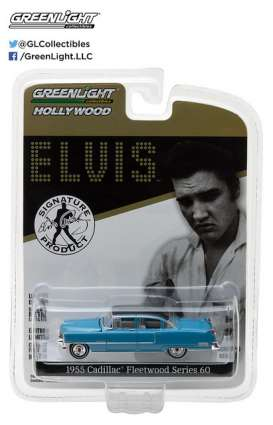 GreenLight - Cadillac  - gl44760A : 1955 Cadillac Fleetwood Series 60 *Elvis Presley* Hollywood series 16