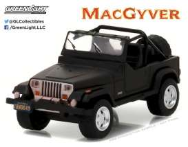 GreenLight - Jeep  - gl44760C : 1987 Jeep Wrangler YJ *MacGyver* Hollywood Series 16