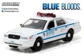 GreenLight - Ford  - gl44760D : 2001 Ford Crown Victoria Police Interceptor New York City Police Dept (NYPD) *Blue Bloods* Hollywood Series 16