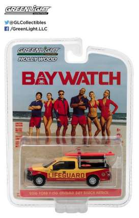 GreenLight - Chevrolet  - gl44760F : 2016 Ford F-150 Emerald Bay Beach Patrol *Baywatch (2017)* Hollywood Series 16