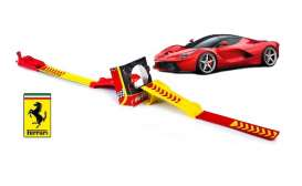 Bburago - Ferrari  - bura31248 : 1/64 Ferrari Laferrati R&P Jump with Launcher, red