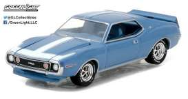 GreenLight - AMC  - gl13180A : 1971 AMC Javelin Muscle Series 18, blue metallic