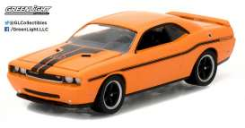 GreenLight - Dodge  - gl13180E : 2014 Dodge Challenger, MOPAR stripe