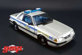 GMP - Ford  - gmp18844 : 1991 Ford Mustang South Carolina Highway Patrol SSP, silver