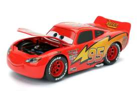 Jada Toys - Cars  - jada98099 : 1/24 Lightning McQueen *Cars 1*, red