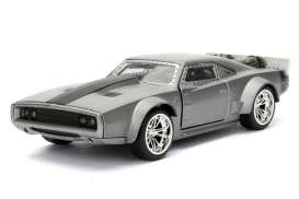 Jada Toys - Dodge  - jada98299 : 1/32 Dom's Ice Charger *Fast 8*, grey