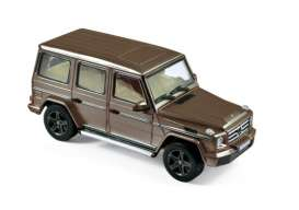 Norev - Mercedes  - nor351334 : 2016 Mercedes-Benz G-class, brown metallic