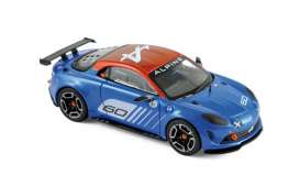 Norev - Renault Alpine - nor517852 : 2015 Alpine Celebration Dieppe, blue/orange
