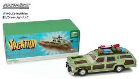 "GreenLight - Ford  - gl19031 : 1979 Family Truckster ""Wagon Queen"" with Rooftop Luggage *Artisan Collection* National Lampoon's Vacation (1983), green/brown"