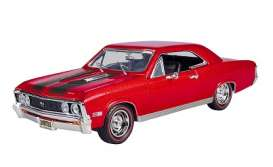 Motor Max - Chevrolet  - mmax73104rb : 1967 Chevrolet Chevelle SS396, red/black