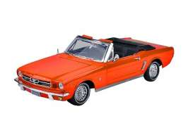 Motor Max - Ford  - mmax73145o : 1964 1/2 Ford Mustang Convertible, orange