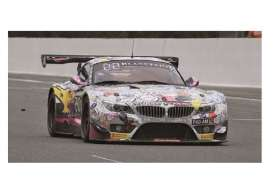 Minichamps - BMW  - mc151152324 : 2015 BMW Z4 GT3 BMW Racing Against Cancer Witmeur/Martin/ V.D.Poele/Duez 24H Spa, white/black/yellow
