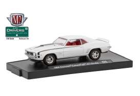 M2 Machines - Chevrolet  - M2-11228-38C : 1969 Chevrolet Camano SS 427 Nicky *M2-Drivers Release 38*, white