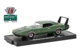 M2 Machines - Dodge  - M2-11228-38F : 1969 Dodge Charger Daytona *M2-Drivers Release 38*, green
