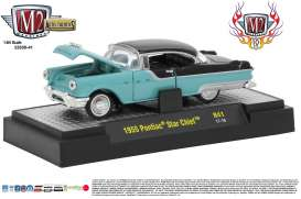 M2 Machines - Buick  - M2-32500-41A : 1955 Buick Pontiac Star Chief *Auto-Thentics Release 40* 10th Anniversary M2 Machines, green/black