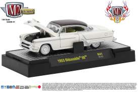 M2 Machines - Oldsmobile  - M2-32500-41C : 1953 Oldsmobile 98 *Auto-Thentics Release 40* 10th Anniversary M2 Machines, white