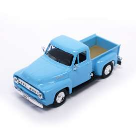 Lucky Diecast - Ford  - ldc94204lb : 1953 Ford F100 Pick Up *Road Signature*, light blue