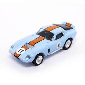 Lucky Diecast - Shelby  - ldc94242bo : 1965 Shelby Cobra Daytona Coupe #11, blue/orange