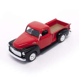 Lucky Diecast - GMC  - ldc94255rbk : 1950 GMC Pick Up, red/black