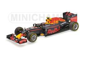 Minichamps - Red Bull Racing   - mc117160026 : 2016 Red Bull Racing Tag Heuer RB12 Daniil Kviat *Resin Series*, blue/red/yellow