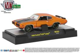 M2 Machines - Pontiac  - M2-32600WC05A : 1969 Pontiac GTO Judge *Wild Cards Release WC05*, orange