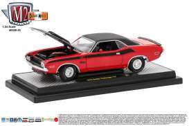 M2 Machines - Dodge  - M2-40300-53A : 1970 Dodge Challenger T/A, red/black