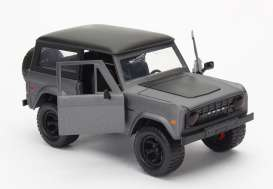 Jada Toys - Ford  - jada97824gy : 1973 Ford Bronco, grey with black roof