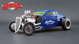 GMP - Hot Rod  - gmp18829 : 1934 Blown Altered Coupe Southern Speed & Marine