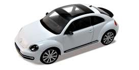 Welly - Volkswagen  - welly18042w*3 : 2012 Volkswagen new beetle, white