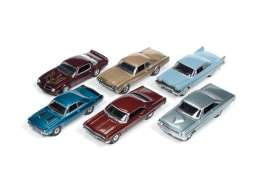 Auto World - Assortment/ Mix  - AW64042D~6 : 1/64 Autoworld Premium-R5 series mix of 6.